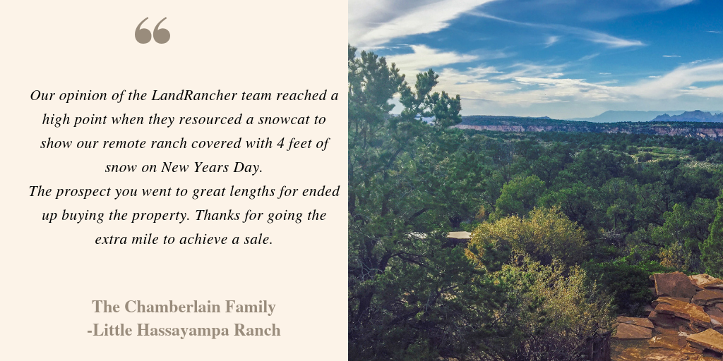 Ranch Seller Testimonial