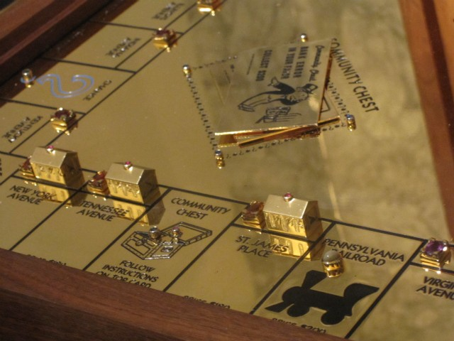 23K Solid Gold Monopoly Game – Can You Believe It