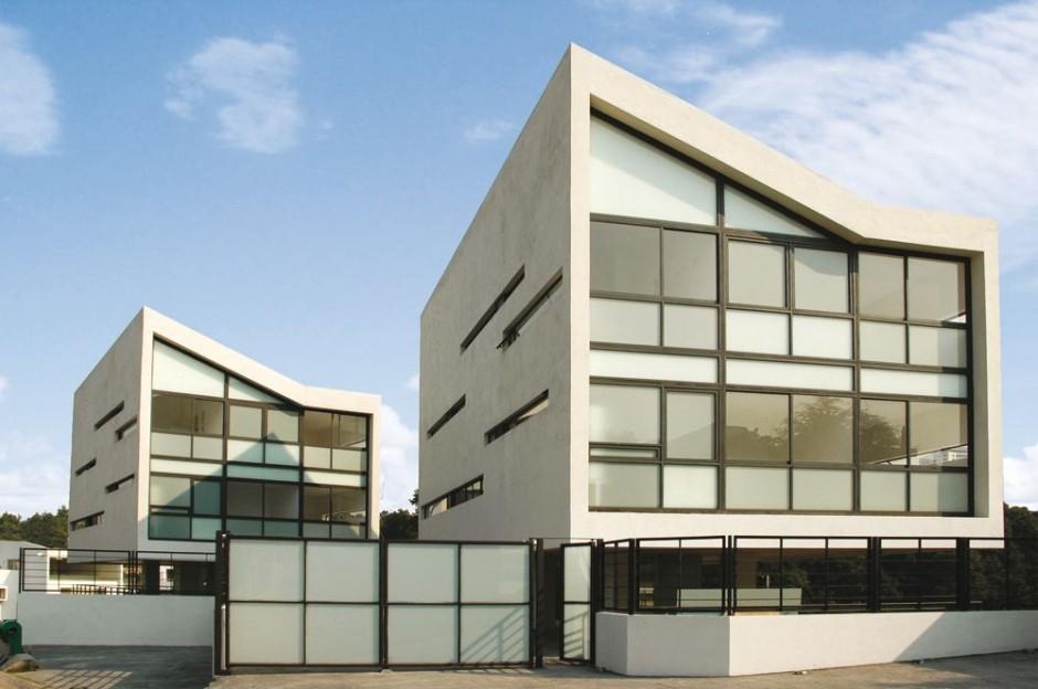 4 Casas by Gaeta Springall Architects