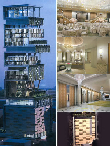 Antilla, Mumbai – The Most Expensive Villa In The World