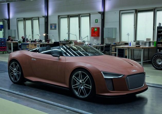 Audi e-Tron Spyder – Behind the Scenes