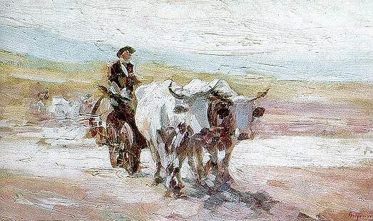 Carul cu boi Grigorescu