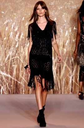 Fringes on the Catwalk for Spring-Sumer 2011