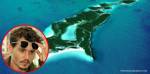 Johnny Depp Island