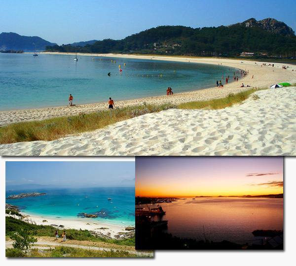 Las Islas Cies, Galicia, Spain