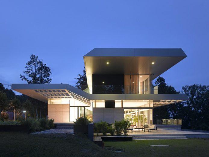 Luxurious House in Linz by Najjar-Najjar Architects