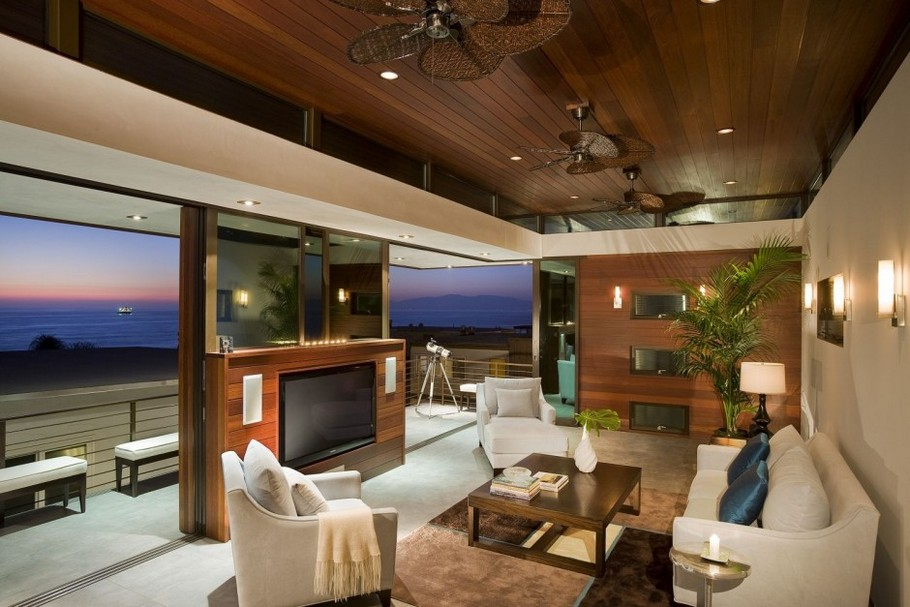 Perfect Beach-House by Lazar Design on Manhattan Beach