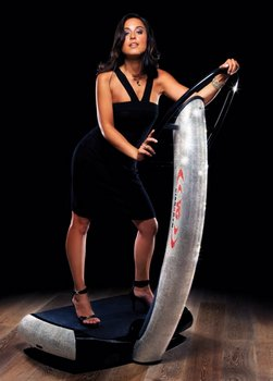 Swarovski Vibration Plate Machine from Vibrogym