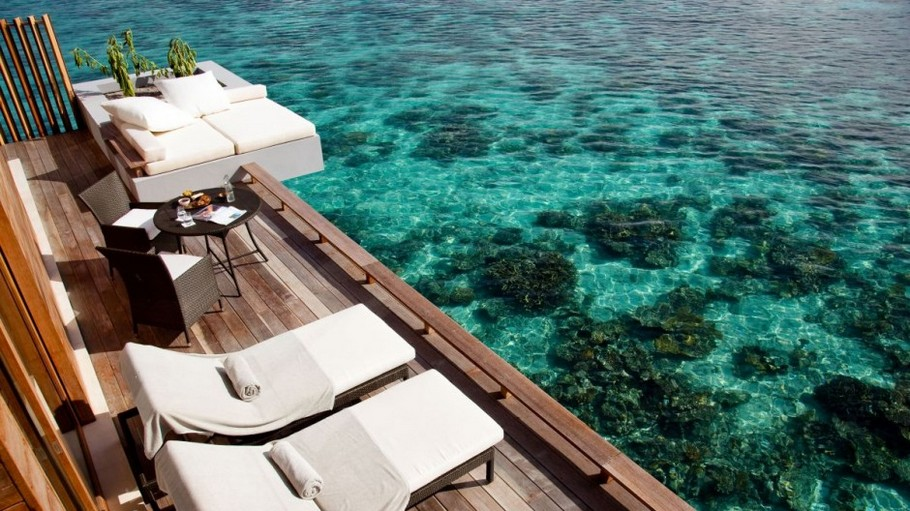The Alila Villas Hadahaa by SCDA Architects in the Maldives