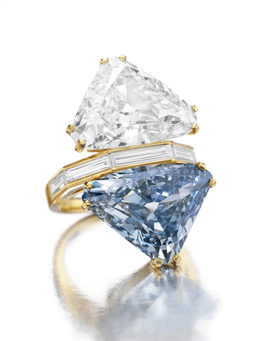 The Bulgari Blue Diamond Sold for Almost $15.8 Million