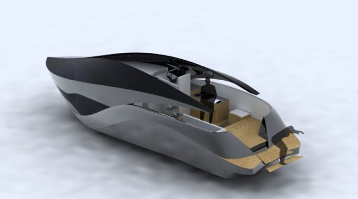 The Glass Roof Seawings 42 Luxury Yacht