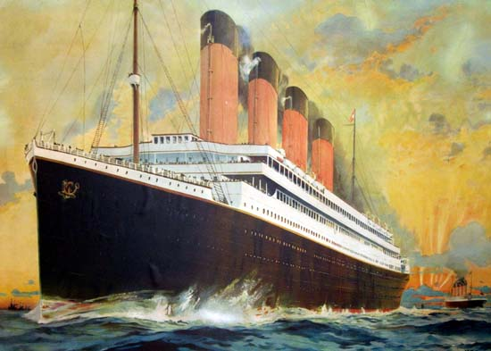 100 Years Old Titanic Poster Sells for £69,000