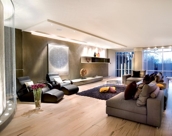 A Somewhat Oriental Interior Design by SHH Architects