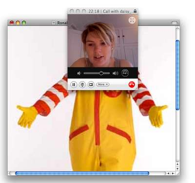 Altered Skype Photography
