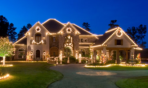 Christmas House Decoration by The Perfect Light