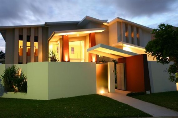 Contemporary house in Queensland