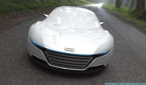 Futuristically Sleek Supercars