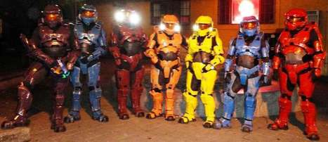 Gamer Armored Suits