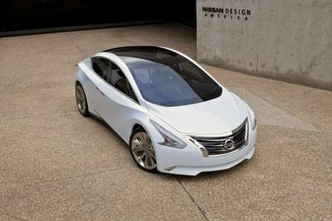 Glass-Roofed Eco Sedans