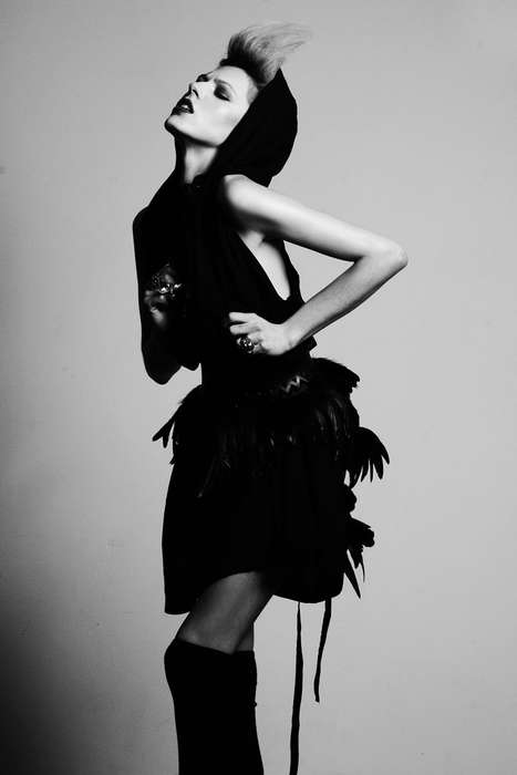 Hooded Bird Dresses
