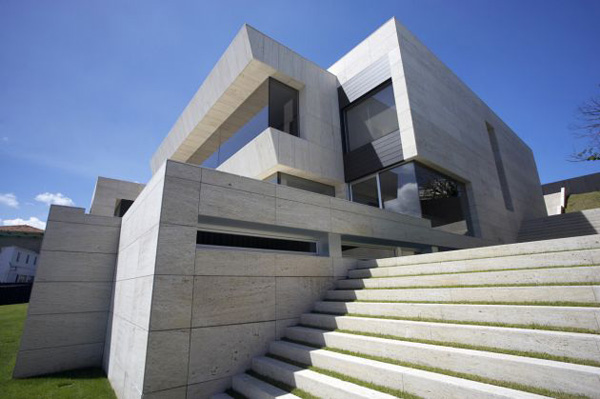 House of the Day A-cero Cliff House in Galicia, Spain