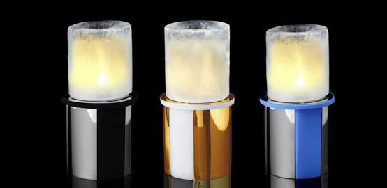 Ice Candles for Christmas