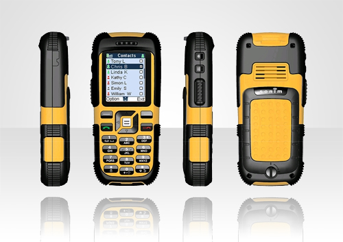 JCB Tradesman Is the World's First Floating Mobile Phone