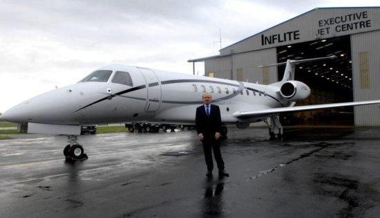 Lord Sugar's New 'G-Suga' Private Jet