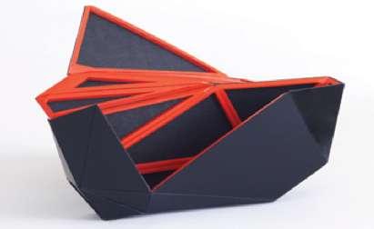 Origami-Inspired Purses