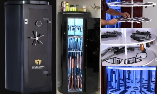 Pendleton Gun Safe for the Gun Collectors of the World