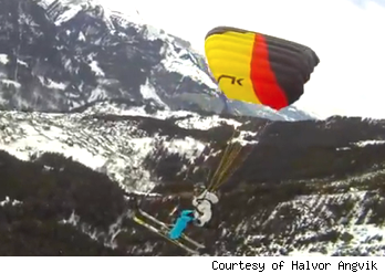 Ski Flying Short Video for Adrenalin Addicts