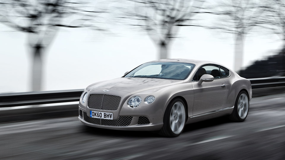 The All-new 2011 Bentley Continental GT