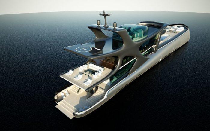 The Beluga Emperor of the Seven Seas Luxury Yacht
