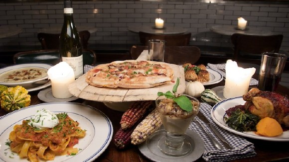 The Day After Thanksgiving Pizza at La Bottega