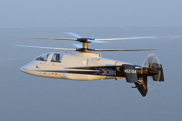 The New Fastest Helicopter Sikorski X2