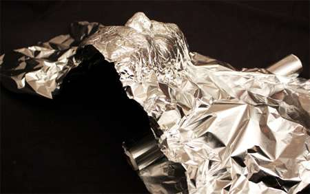 Tinfoil Self-Portraits