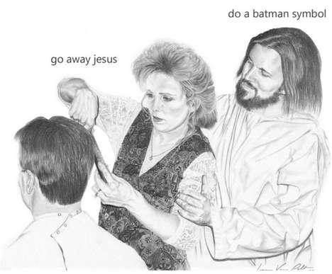 Undignified Deity Drawings