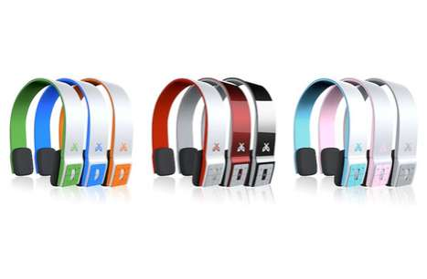 Vibrant Cord-Free Headsets