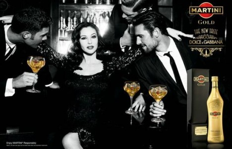 Martini Gold by Dolce & Gabbana - Italian Advertising