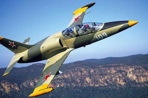 Aero L-39 Albatross fighter jet