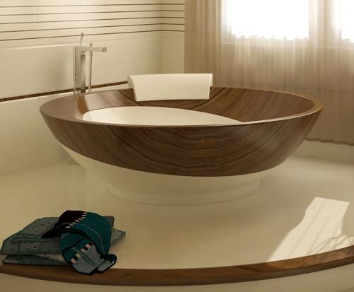 Amazing Wood Bathrooms from Idea Design International 1