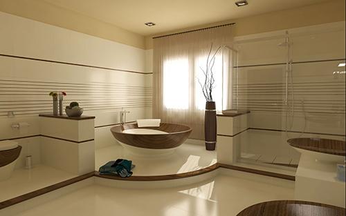 Amazing Wood Bathrooms from Idea Design International 5
