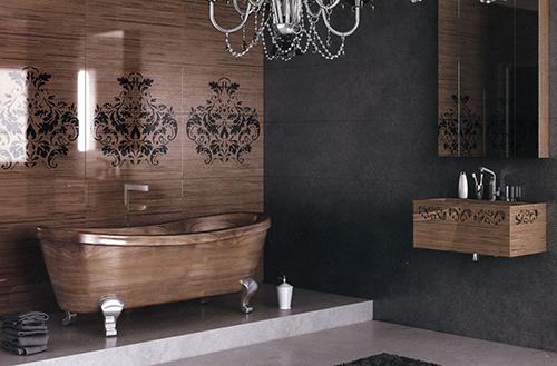 Amazing Wood Bathrooms from Idea Design International