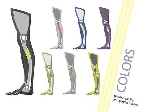 Athletic Designer Prosthetics