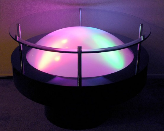 Cocktail Tables With Great LED Light Effects