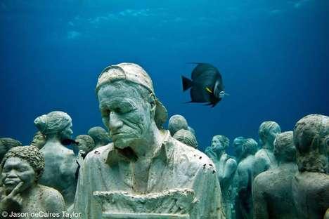 Eerie Underwater Assemblies