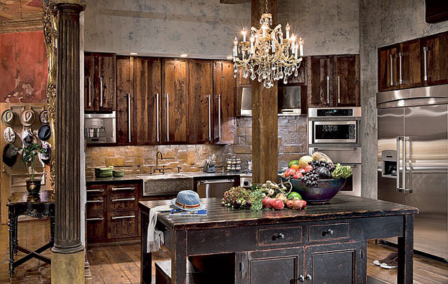 Gerard Butler kitchen