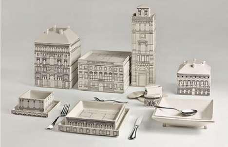Italian Palazzo Serving Plates
