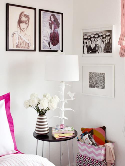 Modern Girls Room by Tori Mellott 3