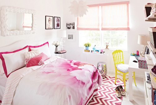 Modern Girls Room by Tori Mellott